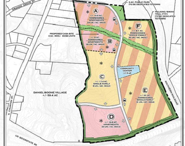 Hillsborough Approves Master Plan for 1,000+ Unit Development