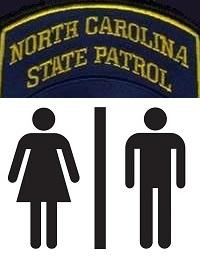NC State Patrol badge