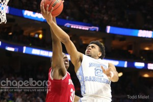 Junior point guard Joel Berry will lead a new-look Tar Heel team that will spotlight some different--but familiar--names next season. (Todd Melet)