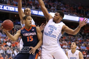 The Tar Heels had a great defensive performance against ACC Player of the Year Malcolm Brogdon. (Todd Melet)