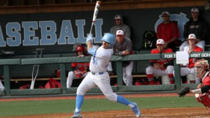 Tyler Ramirez went 3-for-4 with a HR and 3 RBI on Saturday. (Joe Bray/ UNC Athletics)