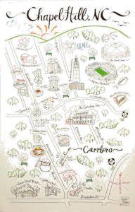 ch carrboro map