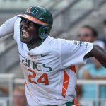 Miami Slugs Past UNC in Top-10 Series Opener