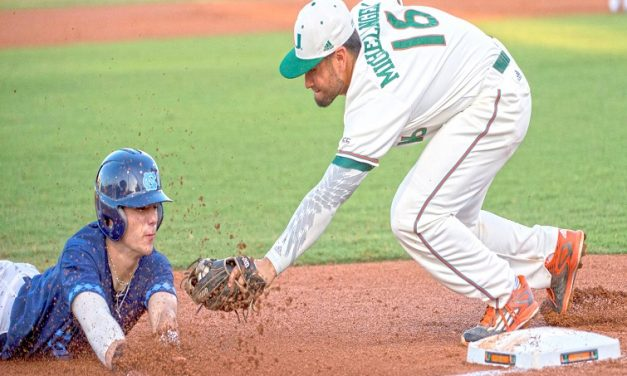 UNC Baseball Swept by Miami; Loses 7-4 in Game 3