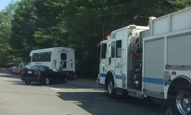 Accident Closes 2 Lanes on 86 North of Weaver Dairy