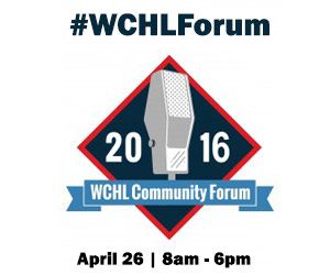 WCHL Community Forum on Tuesday