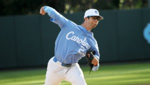 Zac Gallen lost for the second straight weekend after a tough outing against Miami on Friday. (Joe Bray/ UNC Athletics)