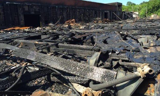 Bellevue Mill Fire Deemed 'Suspicious'