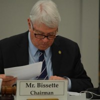 UNC Board of Governors chair Lou Bissette. Photo via Blake Hodge.
