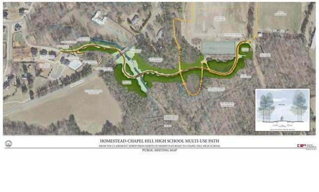 Carrboro To Begin Construction On Homestead Road Greenway