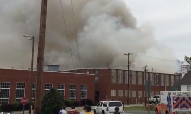 Bellevue Mill Destroyed in Hillsborough Fire