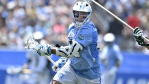 Chris Cloutier scored the game-winner in overtime, his 14th goal of the Final Four. (Jeffrey A. Camarati/ UNC Athletics)
