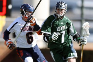 Freshman Pat Spencer (right) has led Loyola on a winning streak that spans more than two months. (Laxmagazine.com)