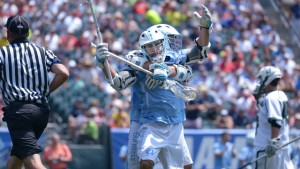 UNC becomes the first school to ever win the men's lacrosse national title with six losses. (Jeffrey A. Camarati/ UNC Athletics)