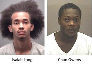 Isaiah Long and Chan Owens. Photos via Hillsborough Police.