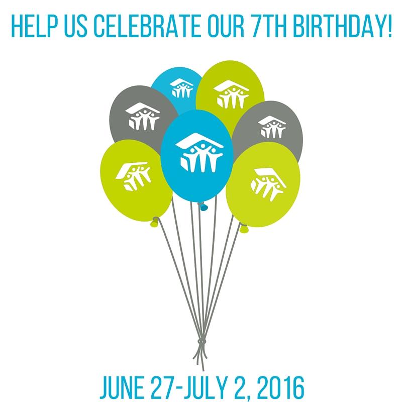 Help Us Celebrate Lucky 7