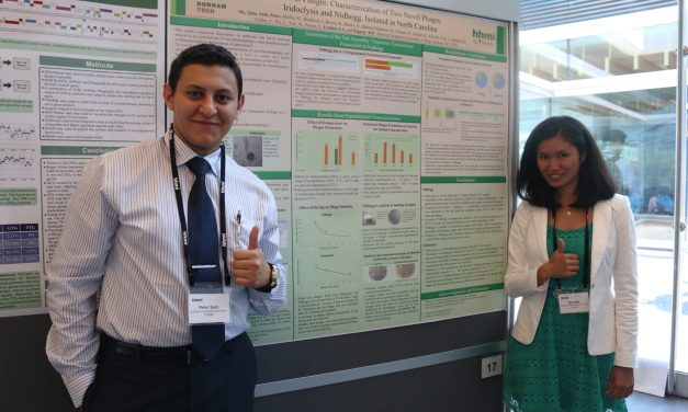 Durham Tech Students Present Research at National Symposium
