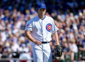 Adam Warren is heading back to New York after struggling during his time in Chicago. (Getty Images)
