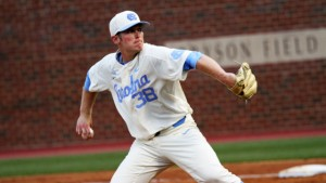 JB Bukauskas is expected to lead a UNC pitching staff heavy on right-handers in 2017. (Joe Bray/ UNC Athletics)