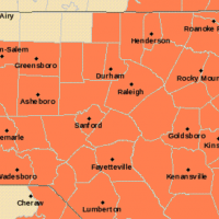 Heat Advisory via National Weather Service.
