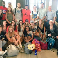 UNC students heading to Rio to cover the 2016 Summer Olympics. Photo via UNC.