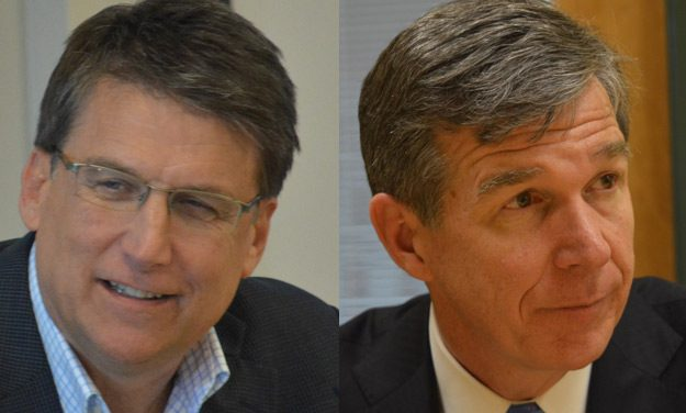 PPP: Roy Cooper Leads Pat McCrory in Race for NC Governor