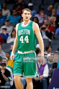 Tyler Zeller is a restricted free agent, meaning Boston can match any offer he receives. (Rocky Widner/Getty Images)