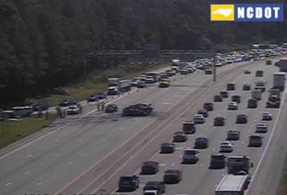 I-40 WB Reopened in Durham