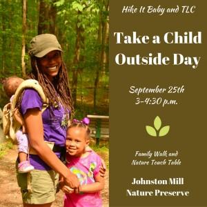 Take a Child Outside Week