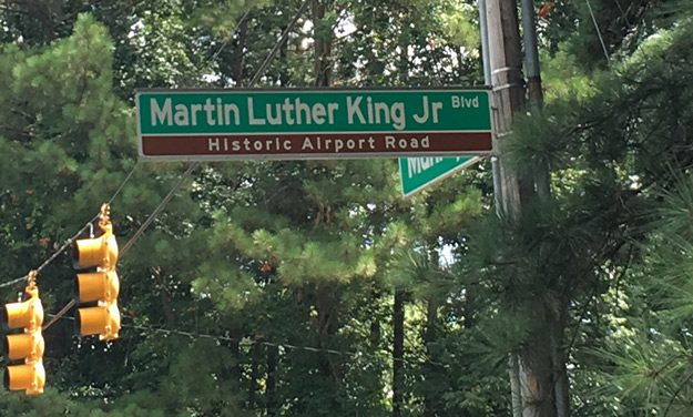 Historic Airport Road Designation Removed from Chapel Hill's Martin Luther King Junior Boulevard