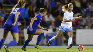 Cameron Castleberry tore her ACL last November, and may not yet be at full strength for this season. (Jeffrey A. Camarati/ UNC Athletics)