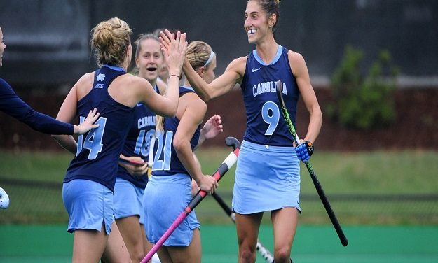 UNC Field Hockey Ranked No. 1 in Preseason Poll