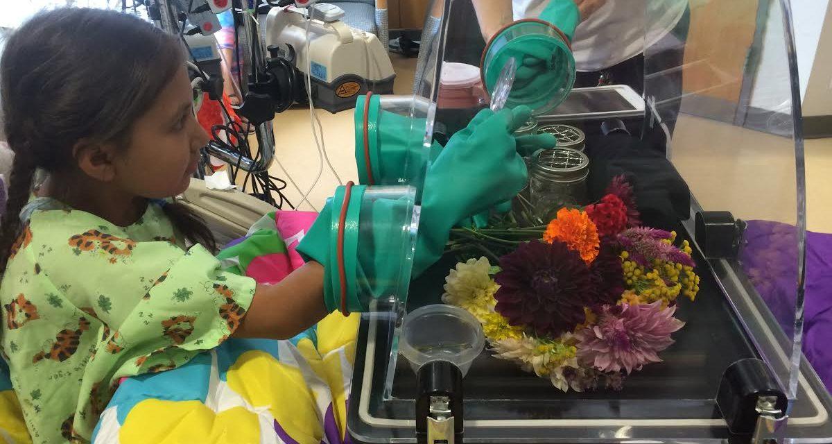 'WonderSphere' Brings Nature into UNC Children's Hospital