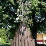 Sculpture Outside Chapel Hill Fire State Rededicated Ahead of 9/11 Anniversary