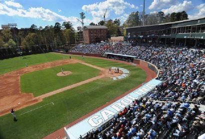 Survey Lists Boshamer Stadium as One of Nation's Top College Ballparks