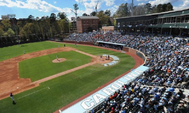Survey Lists Boshamer Stadium as One of Nation's Top College Ballparks