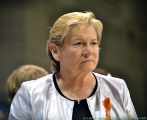 Despite coming under fire during the school's academic scandal, UNC women's basketball coach Sylvia Hatchell was rewarded with a two-year extension. (Elliot Rubin)