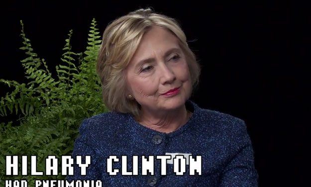 Watch Hillary Clinton on 'Between Two Ferns'