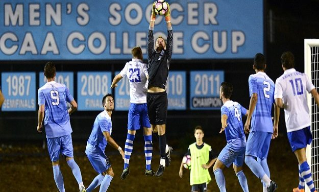 Two UNC Men's Soccer Players Named to National Team of the Week