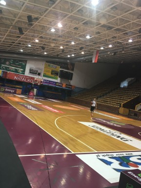 Hala Gryfia, our home court