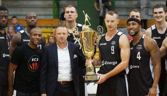 "Recent preseason tournament, ""Tyskie Cup"" championship photo. Marcus was named MVP"