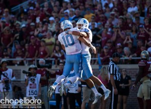 If Trubisky (10) and the offense get back on track the rest of the season, UNC can still finish the year with a solid record--and maybe still compete for the Coastal Division title. (Smith Cameron Photography)