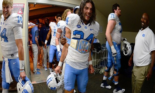 """The Kick"": Weiler's 54-Yard FG Gives UNC Football Upset Win at No. 12 Florida State"
