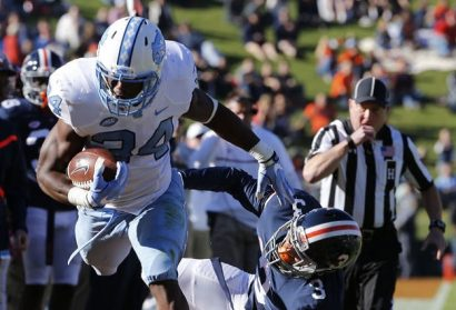 UNC Starts Slow, Finishes Strong In 35-14 Win at Virginia