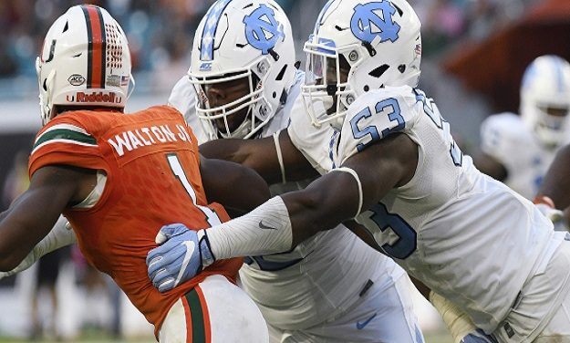 UNC Rides Much-Maligned Defense to a 20-13 Road Win Over No. 16 Miami