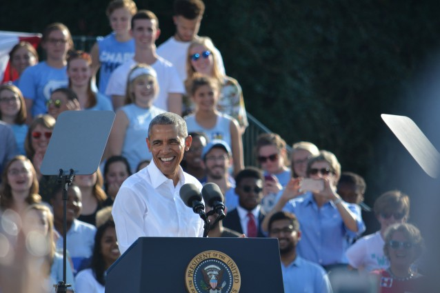 President Obama Asks North Carolina To Vote for Hillary Clinton