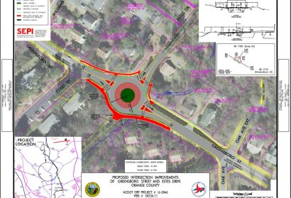 NCDOT Looking into Options for Carrboro Intersection