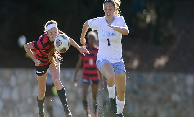 UNC Women's Soccer Moves Past Liberty Into NCAA Second Round