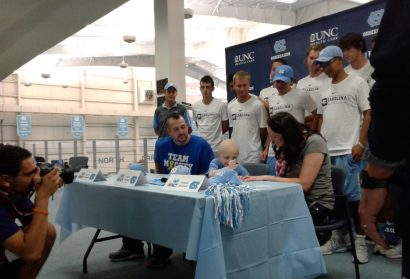 UNC Tennis Team Holds Special Signing Day