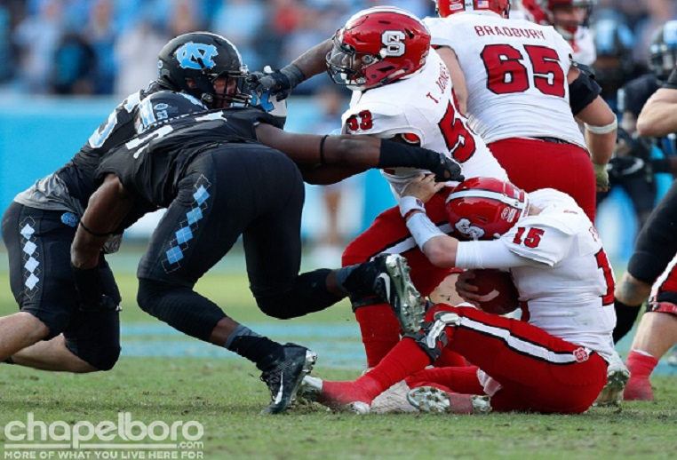 Black Friday  UNC Football Falls 28-21 to NC State on Senior Day ... 9d59a5e38